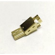 3μm Gold plated USB Mini-B plug
