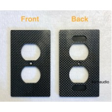 US outlet Carbon Fiber wall plate