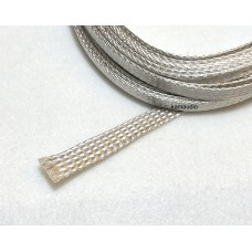 Silver Plated Copper Braided Sleeving