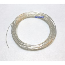 Solid core OFC silver plated wire