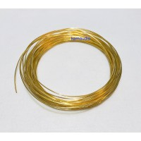 Solid Core 5N Silver 24K Gold Plated Wire