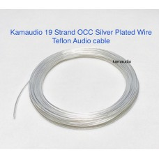 OCC silver plated wire 19 strand