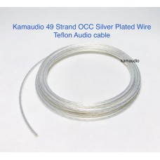 OCC silver plated wire 49 strand 7x7 core