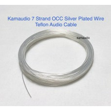 OCC silver plated wire 7 strand